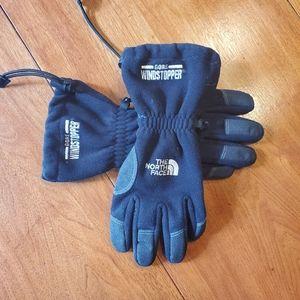 The Northface windstopper ski gloves. Sz S GUC